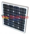 Placa Fotovoltaica Monocristalina 50W 12V